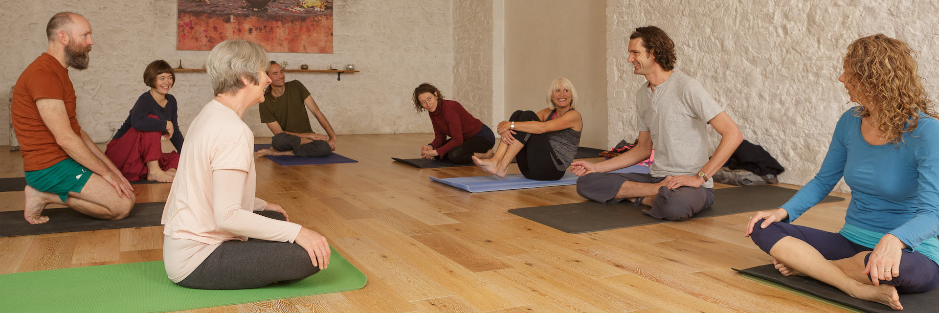 weekly yoga classes in south Devon